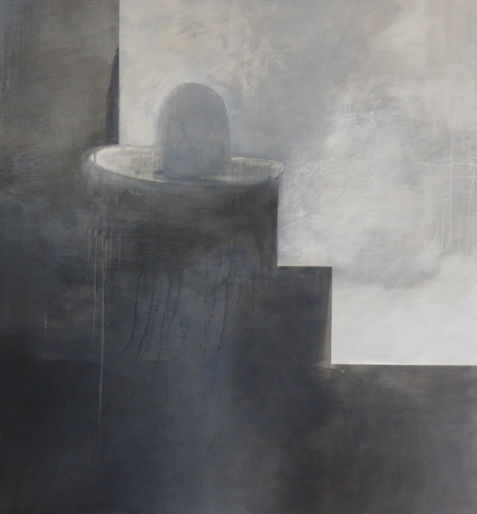 Kristin Kelich, Untitled, oil on canvas, 160 x 155cm, 2015
